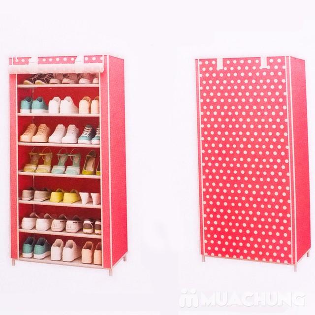 Tủ vải đựng giày 7 tầng tiện lợi cho mọi nhà - 7