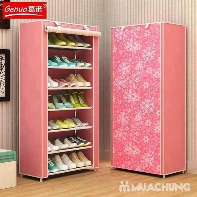 Tủ vải đựng giày 7 tầng tiện lợi cho mọi nhà - 1