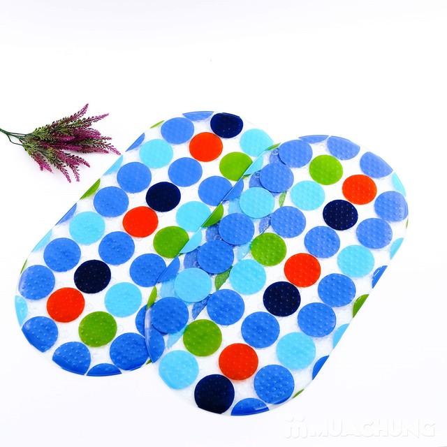 Thảm nhựa dẻo chống trượt trong nhà tắm - 5