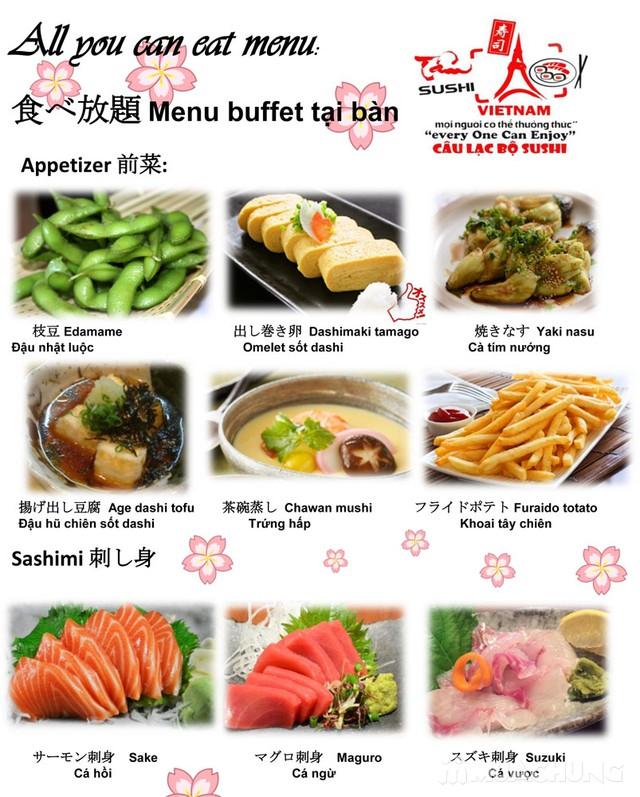 Buffet món Nhật & lẩu tuyệt hảo-Sapporo Sushi Club - 10