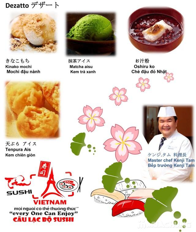 Buffet món Nhật & lẩu tuyệt hảo-Sapporo Sushi Club - 15