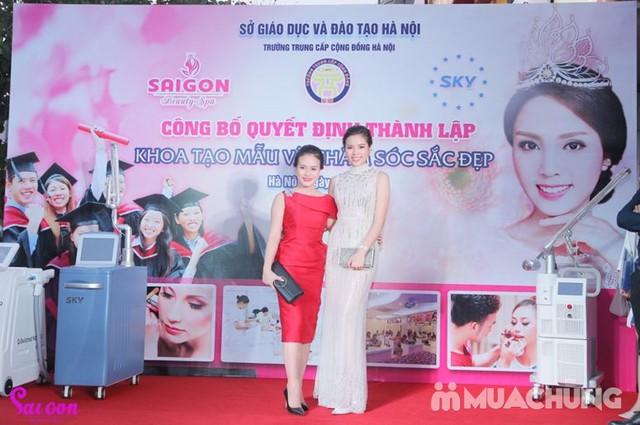 Cấy phấn Nano công nghệ Hàn Quốc siêu trắng mịn Sài Gòn Beauty & Spa - 14
