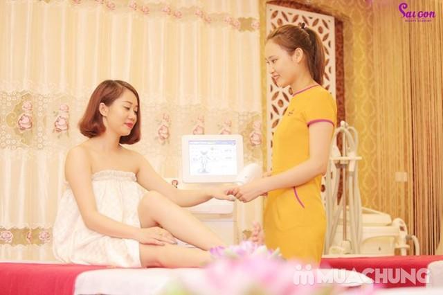 Cấy phấn Nano công nghệ Hàn Quốc siêu trắng mịn Sài Gòn Beauty & Spa - 12