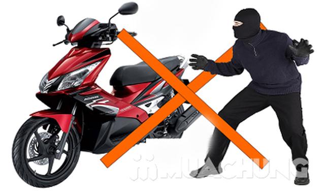 Khóa chữ U chống trộm - An toàn cho xe máy - 7