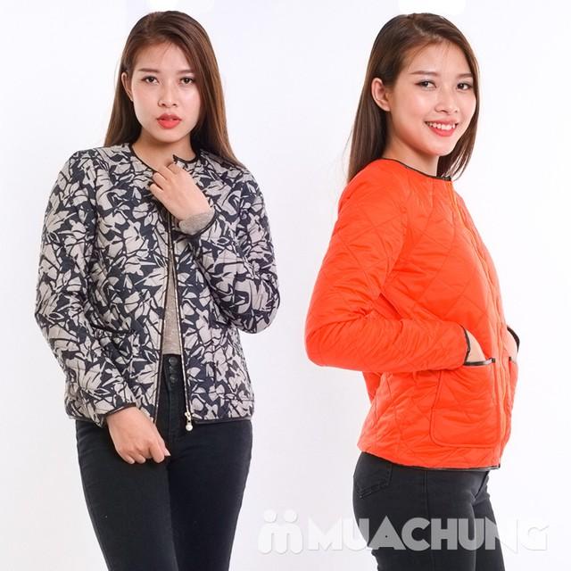 Áo phao nữ chần trám nhiều màu - hàng Việt Nam - 7