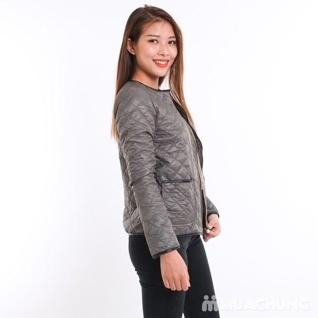 Áo phao nữ chần trám nhiều màu - hàng Việt Nam - 15