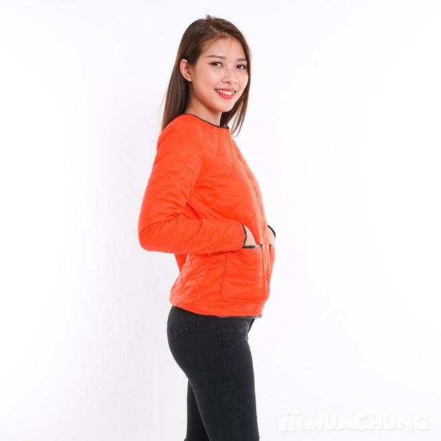 Áo phao nữ chần trám nhiều màu - hàng Việt Nam - 12