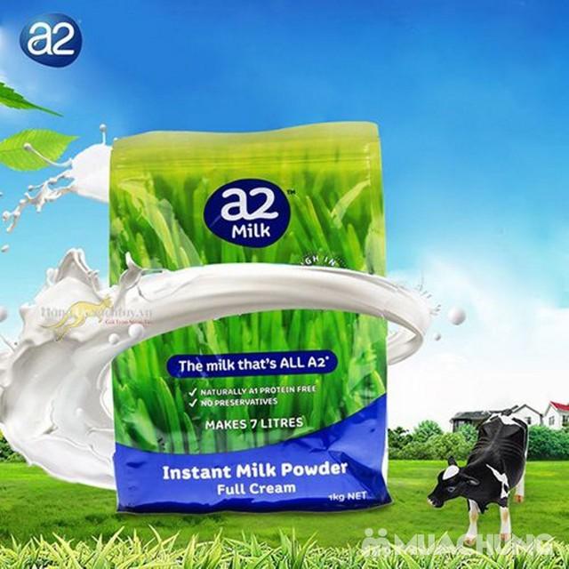 Sữa bột nguyên kem A2 gói 1kg nhập khẩu Úc - 6