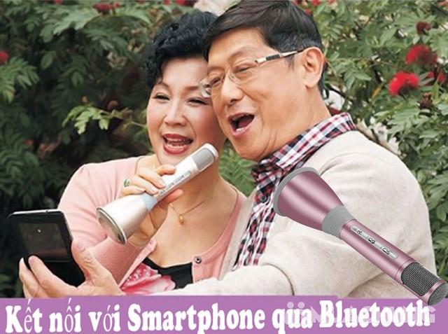 Micro Karaoke kiêm loa di động thế hệ mới KTV-K068 - 9