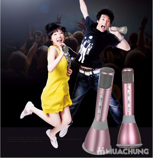 Micro Karaoke kiêm loa di động thế hệ mới KTV-K068 - 7