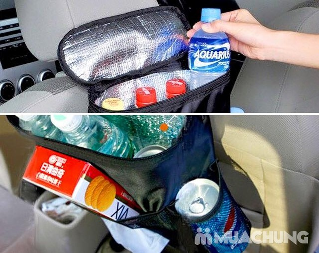 Túi đựng đồ giữ nhiệt treo sau ghế ô tô tiện lợi - 8