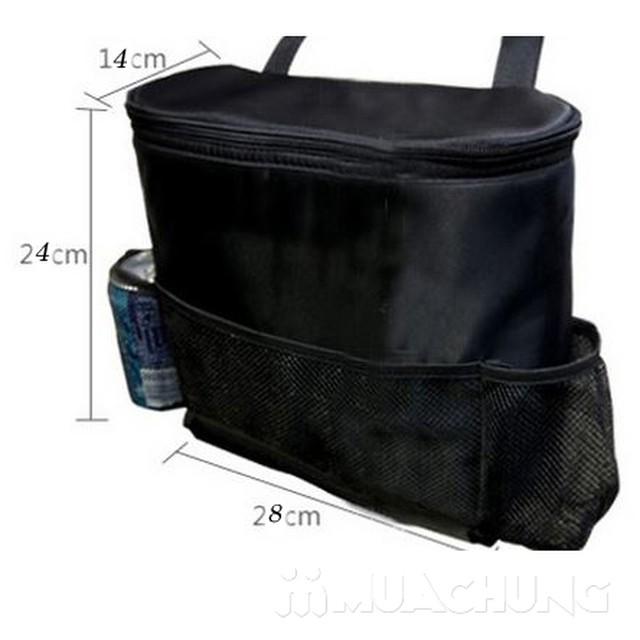 Túi đựng đồ giữ nhiệt treo sau ghế ô tô tiện lợi - 11