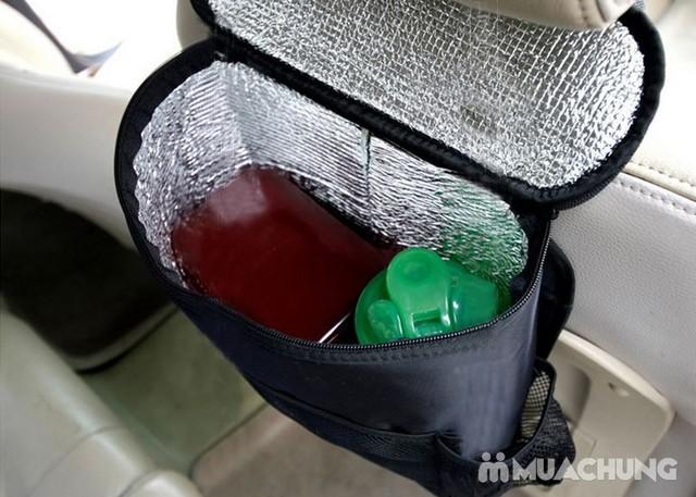 Túi đựng đồ giữ nhiệt treo sau ghế ô tô tiện lợi - 9