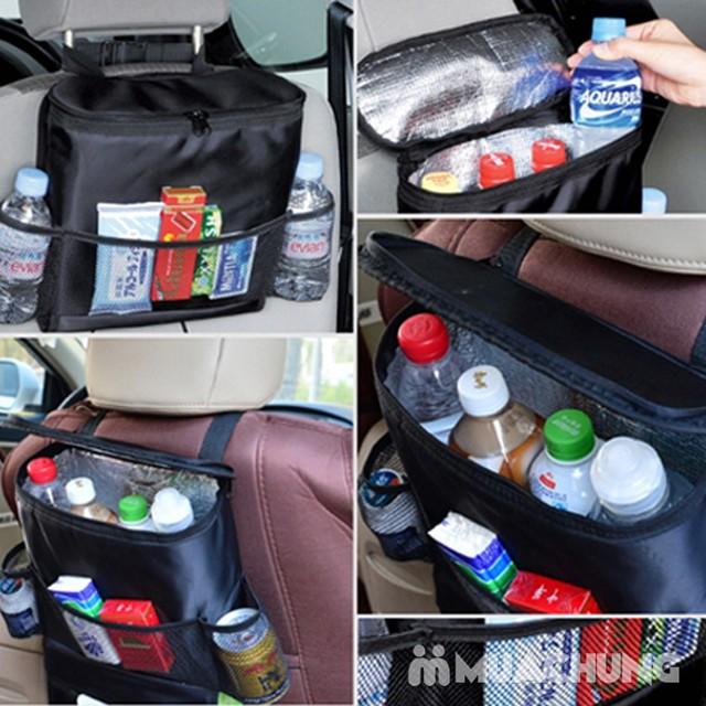 Túi đựng đồ giữ nhiệt treo sau ghế ô tô tiện lợi - 7
