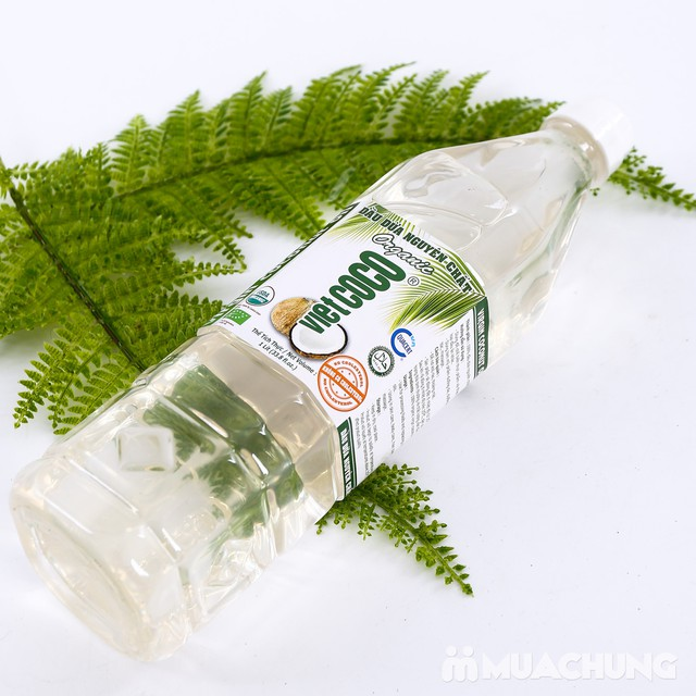1 lít dầu dừa nguyên chất Organic tốt cho sức khỏe - 7