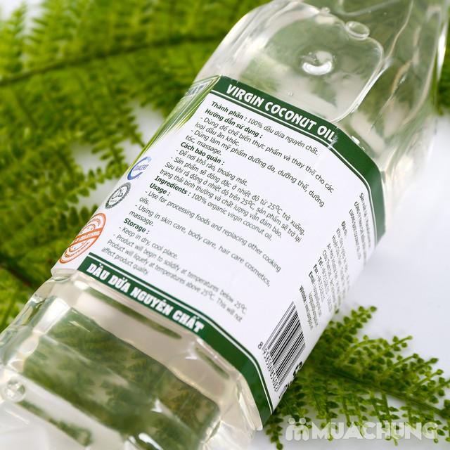 1 lít dầu dừa nguyên chất Organic tốt cho sức khỏe - 11