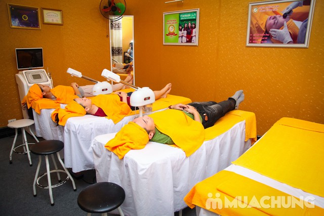 Chăm sóc tái tạo, trẻ hóa da OxyJet + Mặt nạ vàng Doctor Kiệm Spa - 16