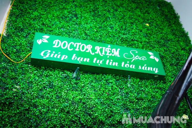 Chăm sóc tái tạo, trẻ hóa da OxyJet + Mặt nạ vàng Doctor Kiệm Spa - 12