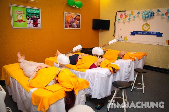 Chăm sóc tái tạo, trẻ hóa da OxyJet + Mặt nạ vàng Doctor Kiệm Spa - 14