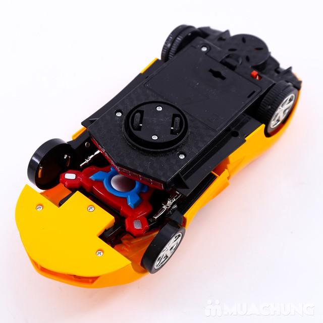 Ô tô biến hình robot - có thể di chuyển, phát sáng - 5