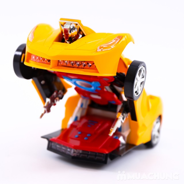 Ô tô biến hình robot - có thể di chuyển, phát sáng - 7