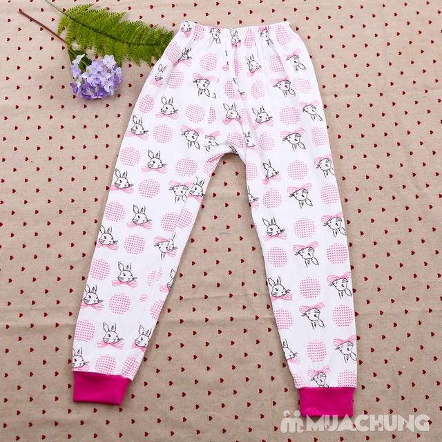 Combo 2 bộ dài tay họa tiết chất cotton cho bé lớn - 2