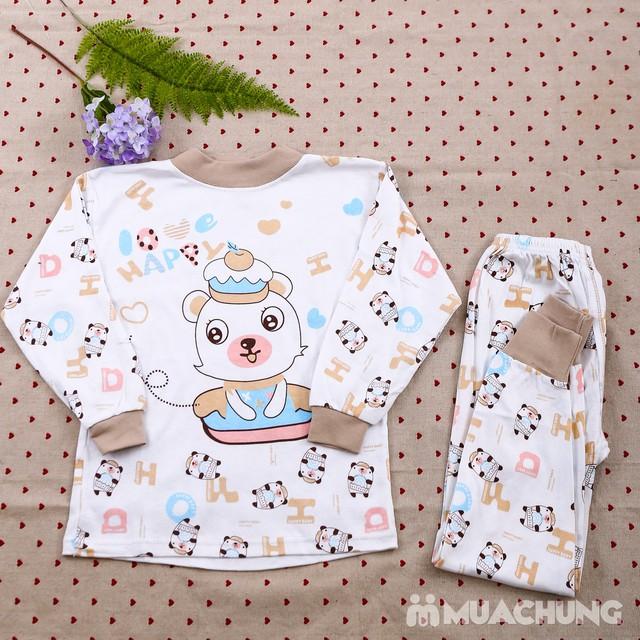 Combo 2 bộ dài tay họa tiết chất cotton cho bé lớn - 3