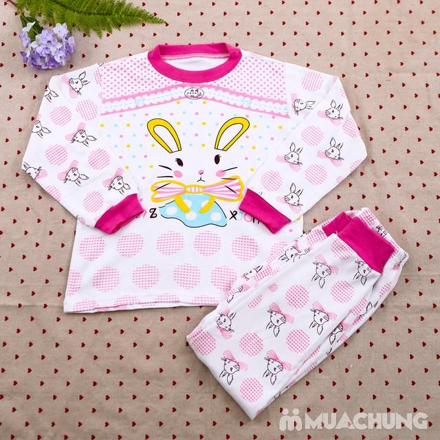 Combo 2 bộ dài tay họa tiết chất cotton cho bé lớn - 6