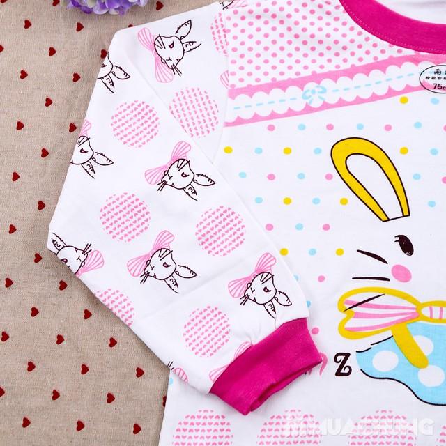 Combo 2 bộ dài tay họa tiết chất cotton cho bé lớn - 8