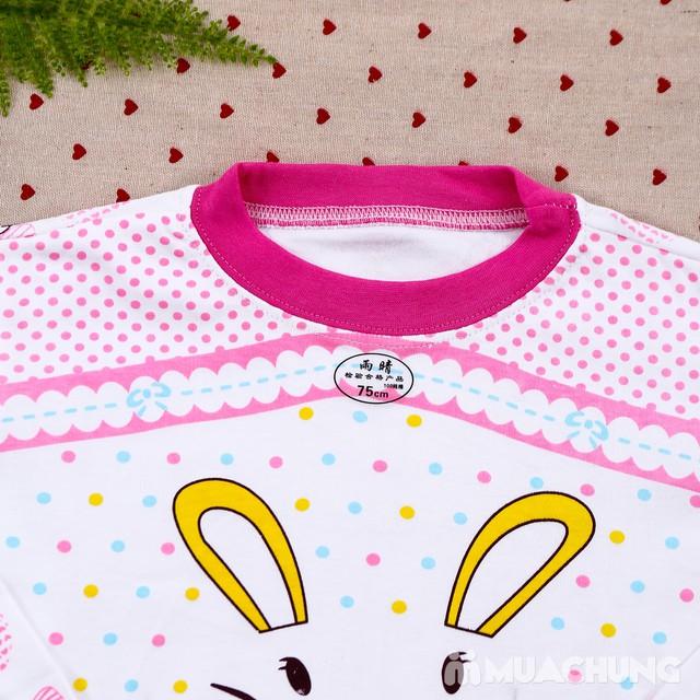 Combo 2 bộ dài tay họa tiết chất cotton cho bé lớn - 7