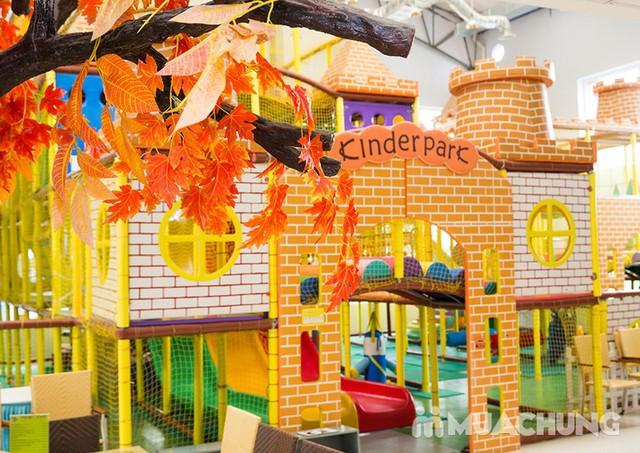 Vé vui chơi thỏa thích cho bé tại Kinder Park - 17