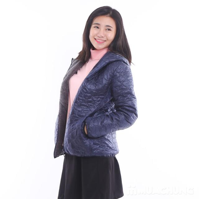 Áo phao lót lông chần trám nhiều màu trẻ trung - 5