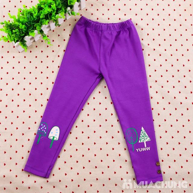 Combo 03 quần legging họa tiết, nhiều màu cho bé  - 11