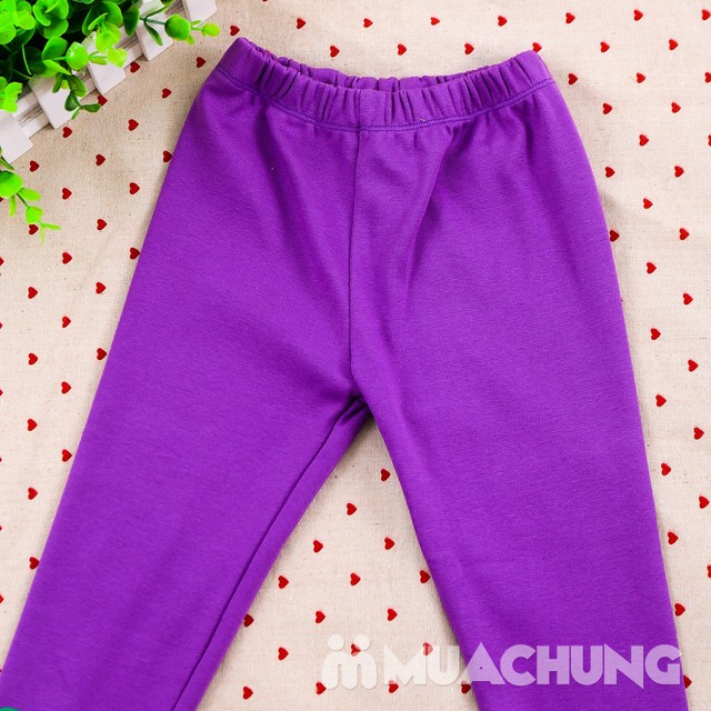 Combo 03 quần legging họa tiết, nhiều màu cho bé - 2