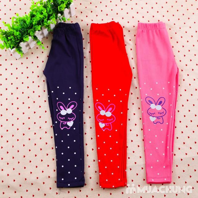 Combo 03 quần legging họa tiết, nhiều màu cho bé  - 8