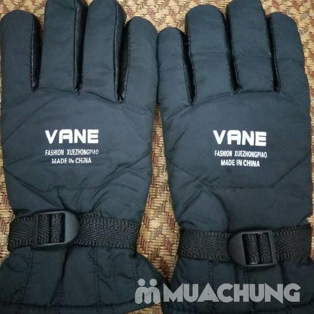 Găng tay phao lót lông nam ấm áp cho mùa đông - 2