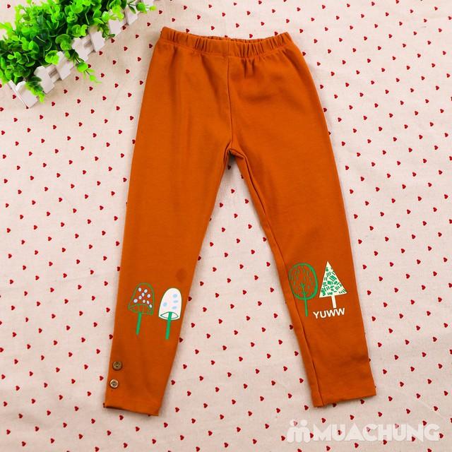 Combo 03 quần legging họa tiết, nhiều màu cho bé  - 10
