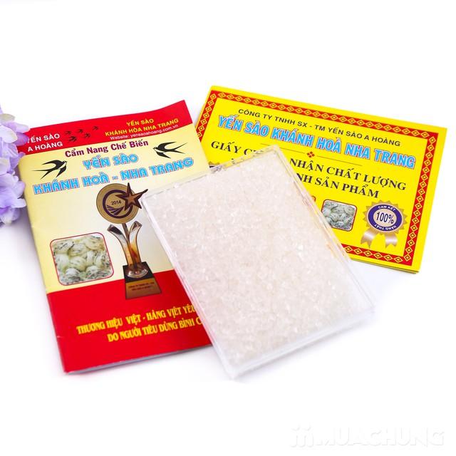 100g tổ yến sào Khánh Hòa tặng 1 hộp đường phèn  - 10