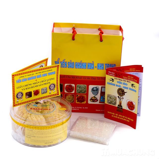 100g tổ yến sào Khánh Hòa tặng 1 hộp đường phèn  - 24