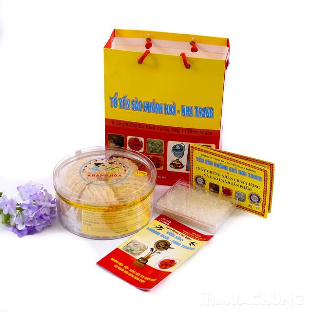 100g tổ yến sào Khánh Hòa tặng 1 hộp đường phèn  - 6