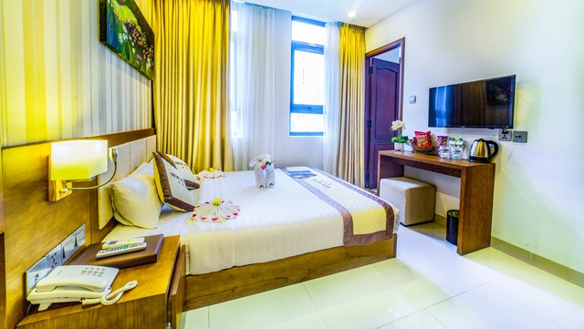 New Boutique Hotel 3* Đà Nẵng - Tầm nhìn hướng biển, 3 phút tản bộ đến biển - 10