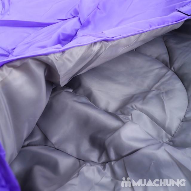 Túi ngủ văn phòng, du lịch chần bông- Kèm túi đựng - 1