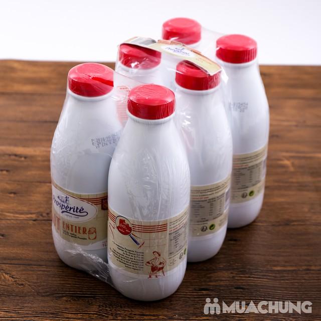 06 hộp sữa tiệt trùng nguyên kem Prosperite - Pháp - 7