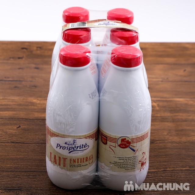 06 hộp sữa tiệt trùng nguyên kem Prosperite - Pháp - 8