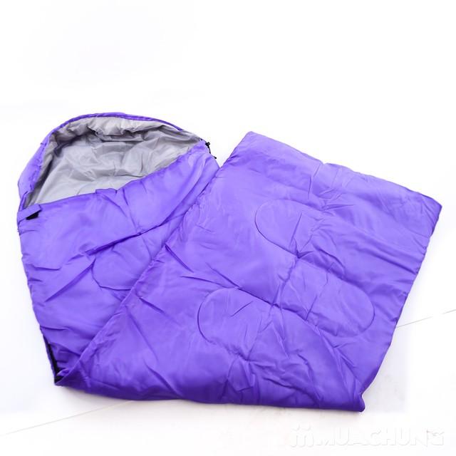 Túi ngủ văn phòng, du lịch chần bông- Kèm túi đựng - 5