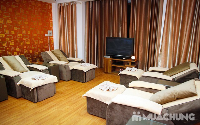 90' massage body & foot massage tinh dầu thảo dược Hồng Anh Foot Massage - 8