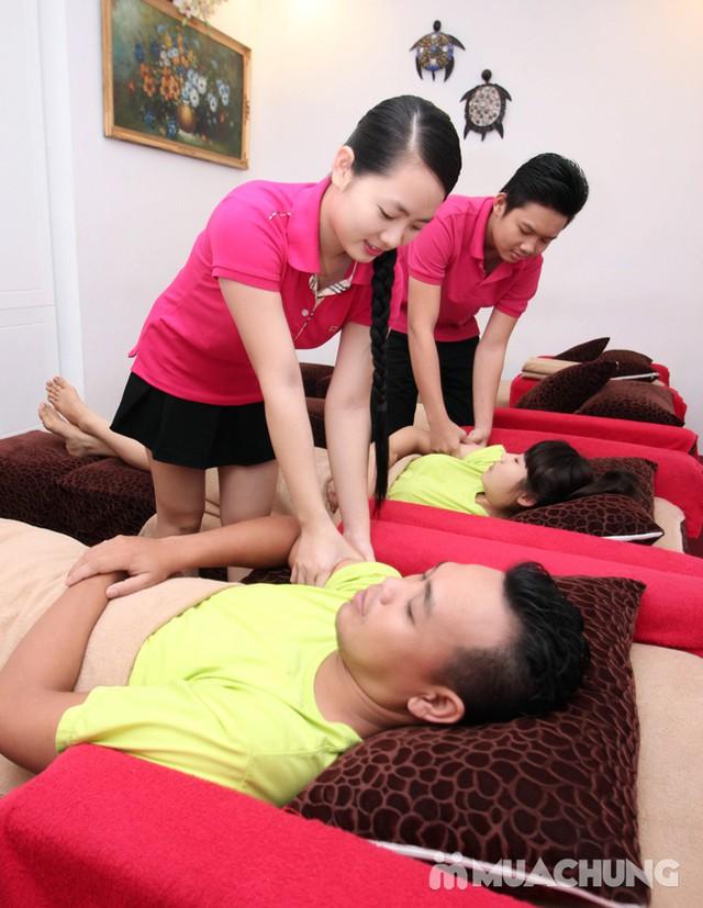 90' massage body & foot massage tinh dầu thảo dược Hồng Anh Foot Massage - 12