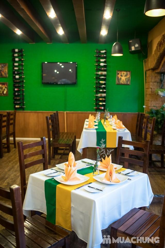 Buffet thịt nướng đẳng cấp tại Vườn nướng Brazil   - 34
