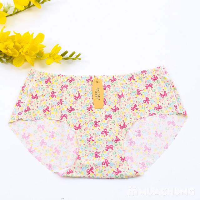 Combo 4 quần lót đúc xu họa tiết hoa - 8