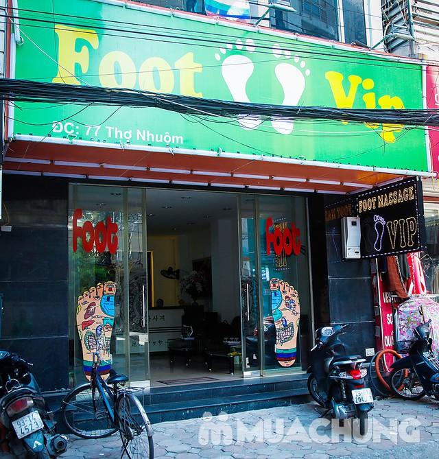 90' massage body & foot massage tinh dầu thảo dược Hồng Anh Foot Massage - 1